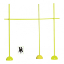 Training kit with light and light weight bases - Yellow