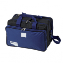 First aid bag - Mid size - 38 x 24 x 24 cm - Black/Blue