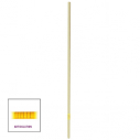 Articulated corner pole - Diam : 30 mm - Height : 170 cm - White