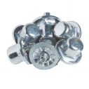 16 mm aluminium football studs - Cylindric - Bag of 100