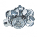 18 mm aluminium football studs - Conic - Bag of 100