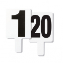 Fould marker set - number 1 to 20