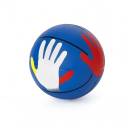 "Rubber basketball size 5 - with ""Hands On"" design 2018"