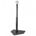 Rubber batting tee - Black
