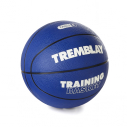 Rubber basketball - size 5 - blue