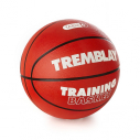 Rubber basketball - size 6 - red
