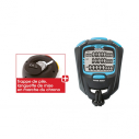 Professional stopwatch - 100 laps - Black/Blue