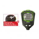 Professional stopwatch - 30 laps - Black/Green