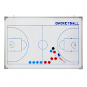 Basketball coach board set - White - 90 x 60 cm - Front+Back printing