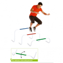 Set of 4hurdles EN297+EN298+EN465+EN466