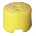 PVC base - Fluo yellow