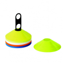 Marker kit with 40 cones - Fluo yellow/White/Sky blue/Fluo orange