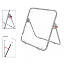 Tchoukball without hooks - 1 x 1 m - Black