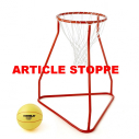 Basketball system - dia. 40 cm - height 90 cm - orange