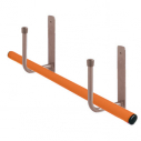Poles rack - Per pair - Metallic grey