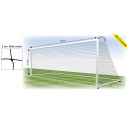 Football net - 11 players - 2 mm - Simple mesh - per pair
