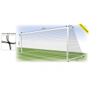 Football net - 11 players - 2 mm - Double mesh - per pair