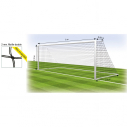 Football net - 8 players - 2 mm - Double mesh - per pair
