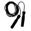 Jump rope - 285 cm - Adjustable - Black handles