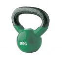 Vinyl kettlebell - 8 kg - Green - with TREMBLAY logo
