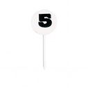 Field event marker - Round shape - Set of 12