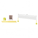 Mini badminton and mini tennis set
