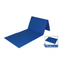 Foldable exercise floor mat - 140 x 50 x 0,7 cm