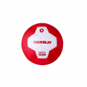 PU foam handball - size 0 - red/white
