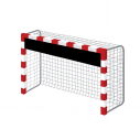 Reducer for handball goal - 300 x 2980 mm - With 11 bungee cords