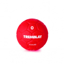 Cellular rubber handball - size 0 - 240/280 gr - red