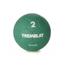 Cellular rubber handball - size 2 - 325/375 gr - green