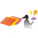 Juggling scarve - 40 x 40 cm - Set of 3