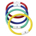 Diving rings with figures - set of 4