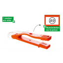 Punche type A - Box of 10 punches - Orange