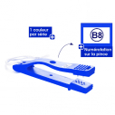 Punche type B - Box of 10 punches - Blue