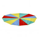 Parachute - 3,6 m - Pyramid shape - with 10 handles