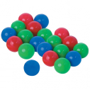 PE ball - Diameter : 70 mm - Weight : 9 g - Set of 20