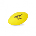 PVC rugby ball - 24 x 15 cm - 280 gr - yellow