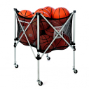 Ball carrying cart with TREMBLAY logo