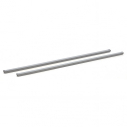 Set of 2 removable bars - 800 x 25 x 25 mm