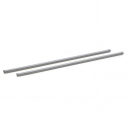 Set of 2 removable bars - 1200 x 25 x 25 mm