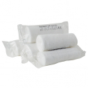 Set of 10 gauze bandages