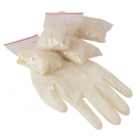 1 pair of examination gloves