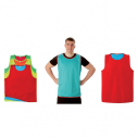 Reversible rugby training bib