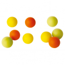 Foam table tennis ball - set of 10 pcs