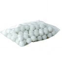 Sachet de 90 balles de tennis de table en ABS