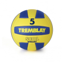 EVA soft volleyball - size 5 - 255 gr - yellow/blue