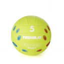 PVC volleyball - size 5 - 265/285 gr - with fingers positions printed