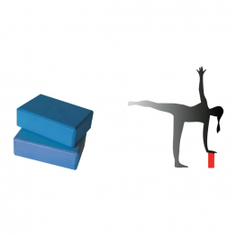 Yoga block - Blue color